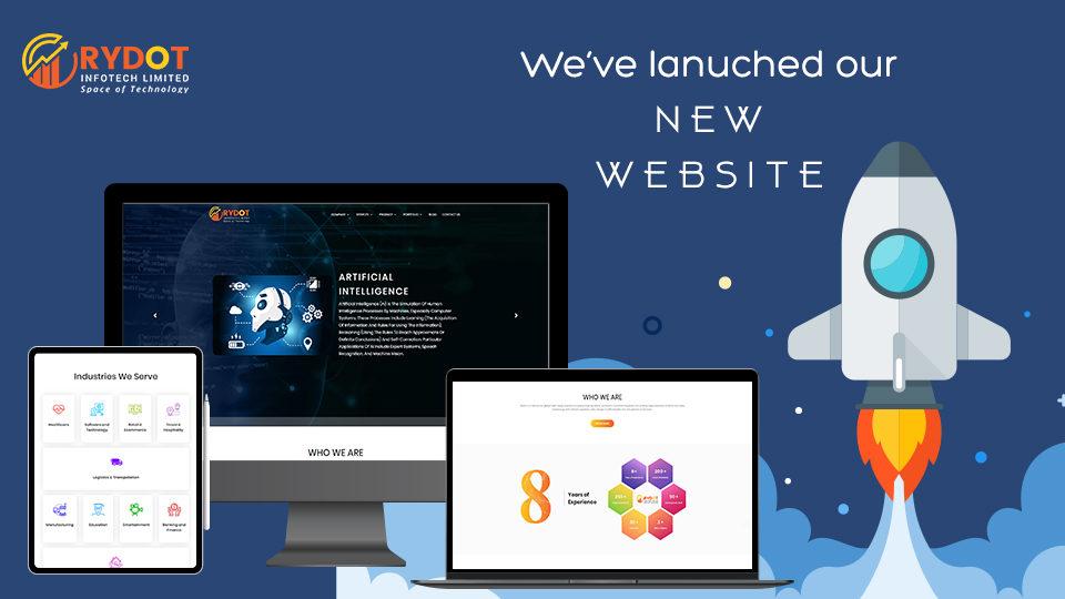 Rydot Infotech Announces Launch of New Website