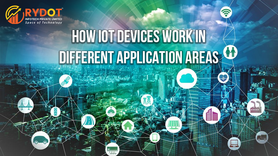 How IoT Contrivance Work in Different Application Areas